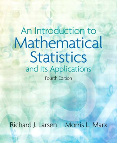 Introduction to Mathematical Statistics and Its Applications  4th 2006 (Revised) edition cover