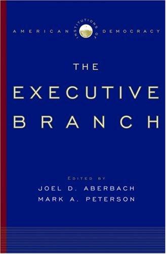 Executive Branch   2005 edition cover