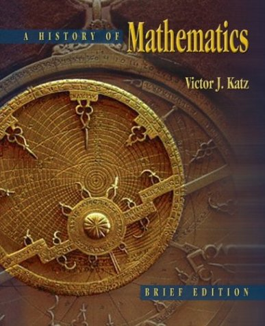 History of Mathematics   2004 (Brief Edition) edition cover