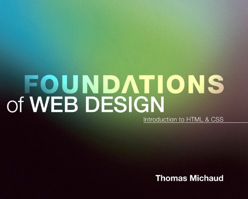 Foundations of Web Design Introduction to HTML and CSS  2014 edition cover