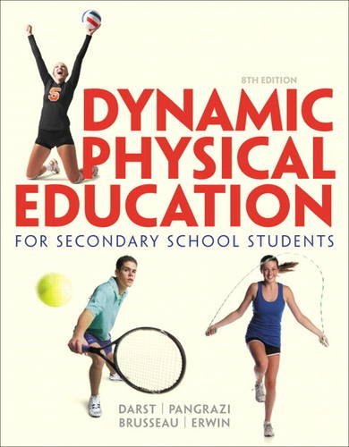 Dynamic Physical Education for Secondary School Students  8th 2015 edition cover