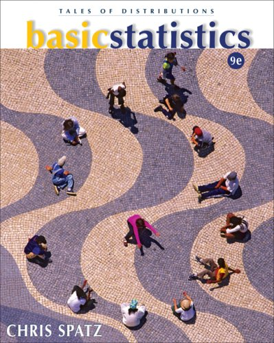 Basic Statistics Tales of Distributions 9th 2008 (Revised) 9780495383932 Front Cover