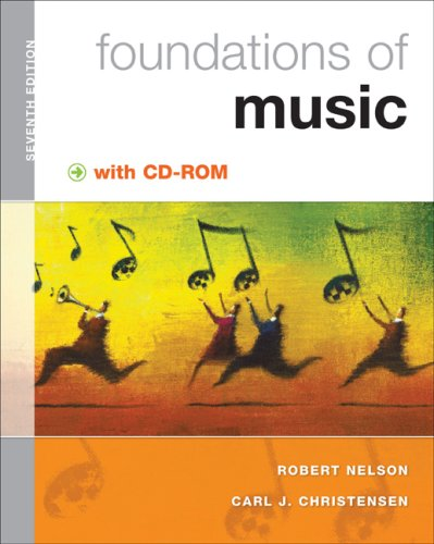 Foundations of Music  7th 2009 edition cover