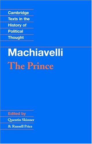Machiavelli The Prince  1988 edition cover