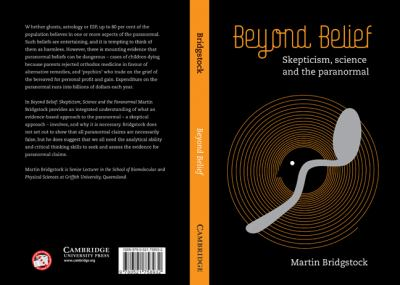 Beyond Belief Skepticism, Science and the Paranormal  2009 9780521758932 Front Cover