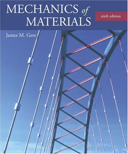 Mechanics of Materials  6th 2004 edition cover