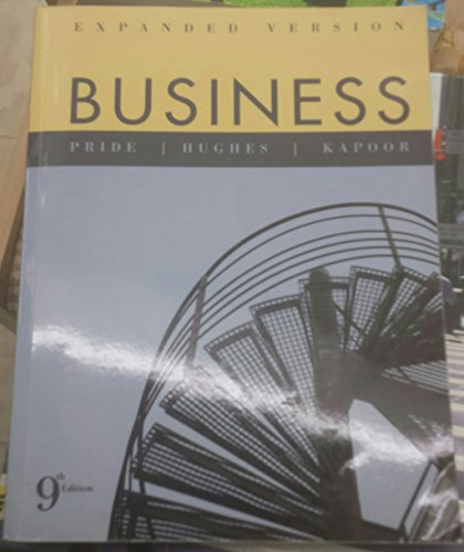 BUSINESS,EXPANDED EDITION >CUS N/A 9780618894932 Front Cover