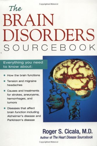 Brain Disorders Sourcebook   1999 edition cover