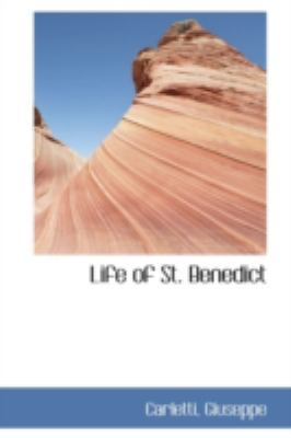Life of St Benedict  N/A 9781113187932 Front Cover