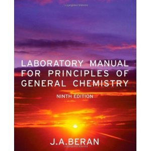 Laboratory Manual for Principles of General Chemistry 9th Edition for CH 115L for Lake Superior State University 9th 2011 9781118111932 Front Cover