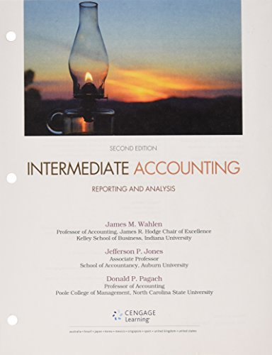 Intermediate Accounting: + Lms Integrated for Cengagenowv2, 2-term Access: Reporting and Analysis  2015 9781305812932 Front Cover