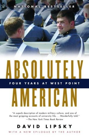 Absolutely American Four Years at West Point  2004 edition cover