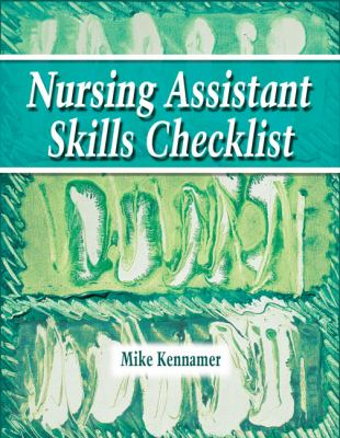 Nursing Assistant Skills Checklist  2006 9781401871932 Front Cover