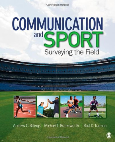 Communication and Sport Surveying the Field  2012 edition cover