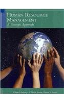 Human Resources Management A Strategic Approach 6th 2010 9781424063932 Front Cover