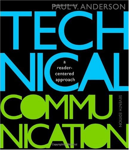 Technical Communication  7th 2011 edition cover