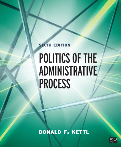 Politics of the Administrative Process  6th 2015 (Revised) edition cover