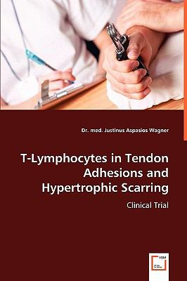 T-Lymphocytes in Tendon Adhesions and Hypertrophic Scarring:   2008 9783836477932 Front Cover