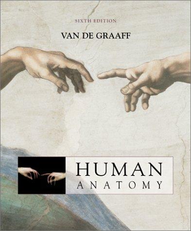 Human Anatomy  6th 2002 edition cover