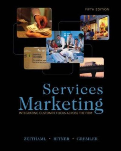 Services Marketing  5th 2009 edition cover