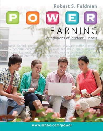 P. O. W. E. R. Learning: Foundations of Student Success   2014 edition cover