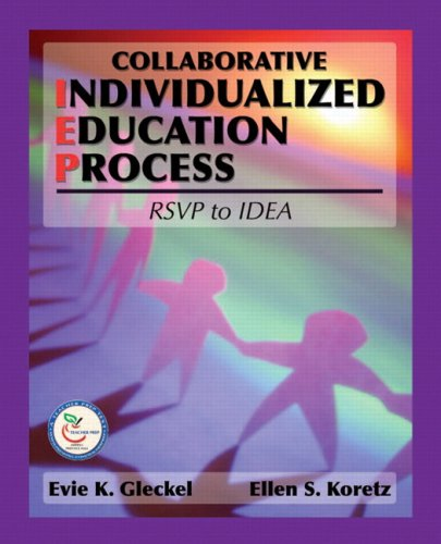 Collaborative Individualized Education Process RSVP to IDEA  2008 edition cover