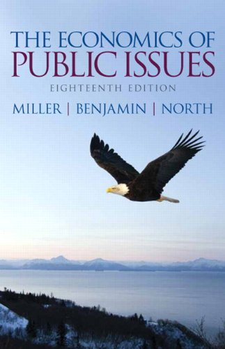 The Economics of Public Issues:   2013 edition cover