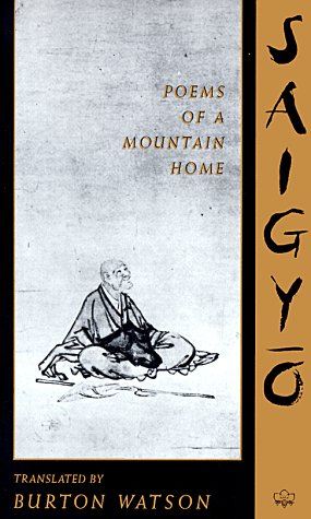 Saigyo Poems of a Mountain Home N/A edition cover