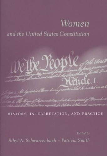 Women and the U. S. Constitution History, Interpretation, and Practice  2004 9780231128933 Front Cover