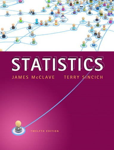Statistics  12th 2013 (Revised) 9780321755933 Front Cover
