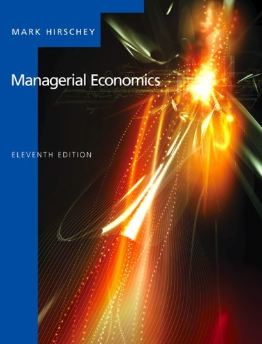 Managerial Economics  11th 2006 edition cover