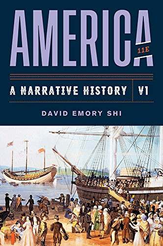 America: A Narrative History  2019 9780393668933 Front Cover