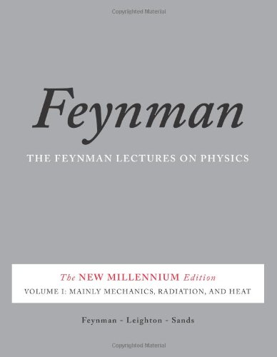 Feynman Lectures on Physics Mainly Mechanics, Radiation, and Heat  2011 edition cover