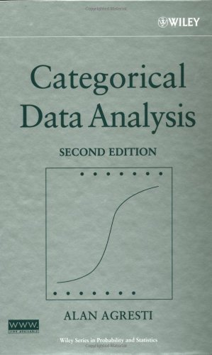 Categorical Data Analysis  2nd 2002 (Revised) edition cover