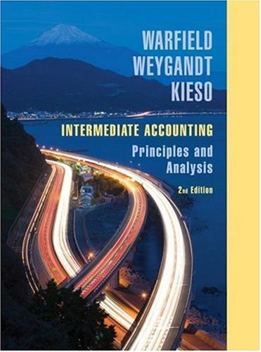 Intermediate Accounting Principles and Analysis 2nd 2008 edition cover