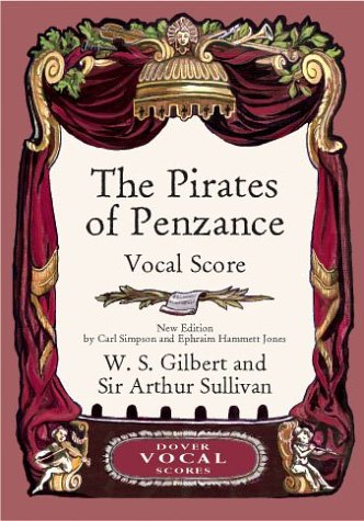 Pirates of Penzance  N/A edition cover
