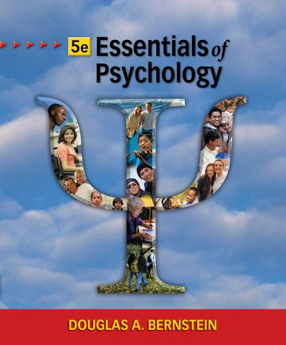 Essentials of Psychology  5th 2011 (Revised) edition cover