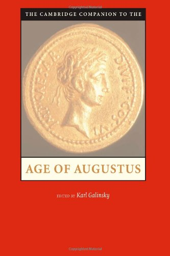 Cambridge Companion to the Age of Augustus   2005 edition cover