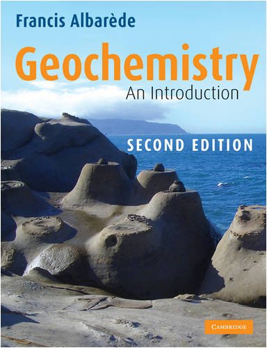 Geochemistry An Introduction 2nd 2009 edition cover