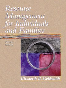 Resource Management for Individuals and Families  2nd 2000 9780534564933 Front Cover