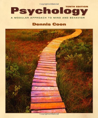Psychology A Modular Approach to Mind and Behavior 10th 2006 (Revised) edition cover