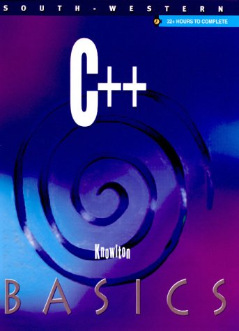 C++ Basics   2001 9780538694933 Front Cover