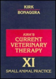 Current Veterinary Therapy XI : Small Animal Practice 11th 1992 edition cover