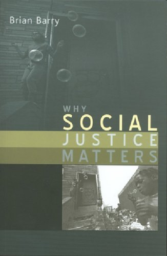 Why Social Justice Matters   2005 9780745629933 Front Cover