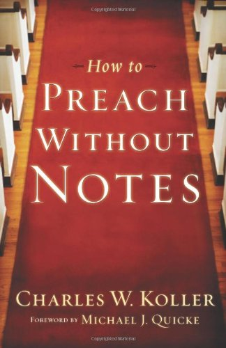 How to Preach Without Notes   2007 edition cover