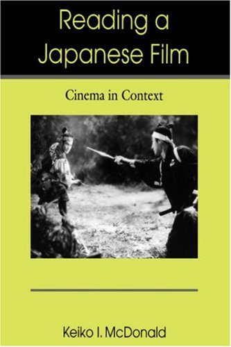 Reading a Japanese Film Cinema in Context  2006 edition cover