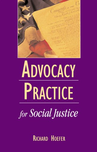 Advocacy Practice for Social Justice  2005 edition cover