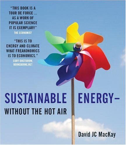 Sustainable Energy - Without the Hot Air   2009 edition cover