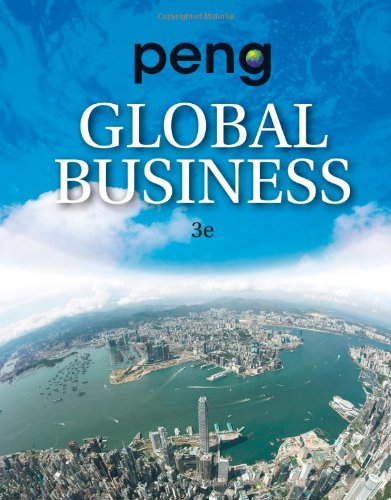 Global Business  3rd 2014 edition cover