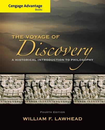 Voyage of Discovery A Historical Introduction to Philosophy 4th 2015 edition cover